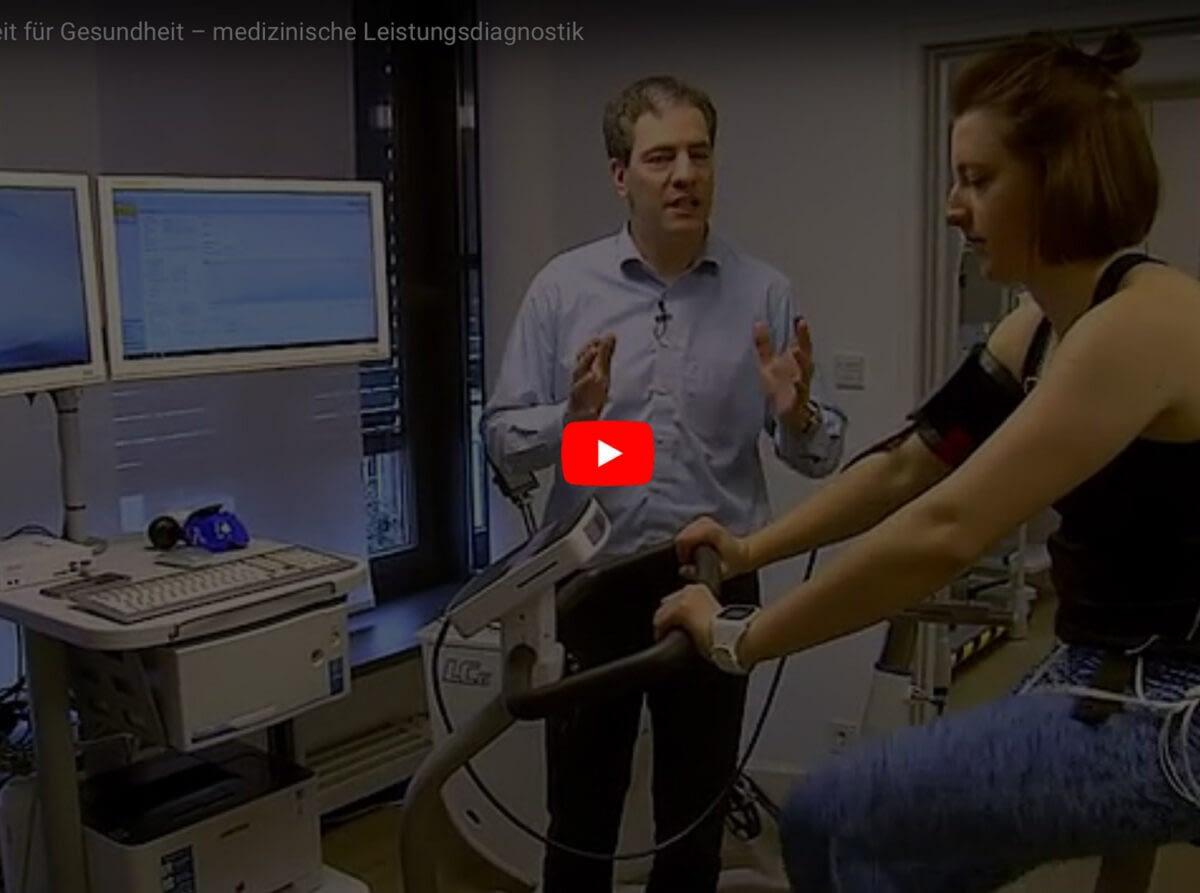 """münchen.tv: """"Zeit für Gesundheit - Medizinische Leistungsdiagnostik"""""""