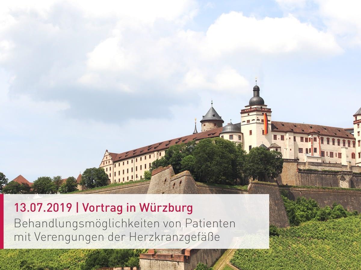 Vortrag im Tagungszentrum der Festung Marienberg in Würzburg
