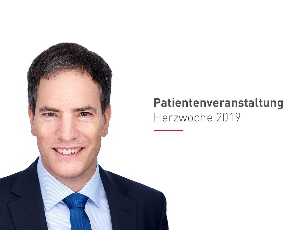 Kostenlose Patientenveranstaltung am 19.11.2019 in der ♥ Kardiologie mit Herz