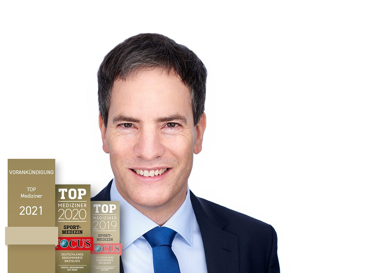 Vorankündigung: Auszeichnung zum Top Mediziner 2021 für Sportmedizin