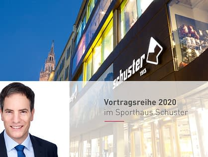 Januar - März 2020 | Vortragsreihe von PD Dr. med. Axel Preßler im Sporthaus Schuster